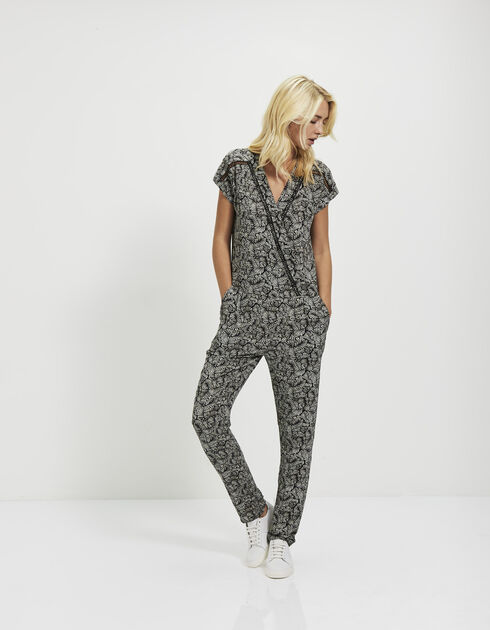 Women's printed jumpsuit