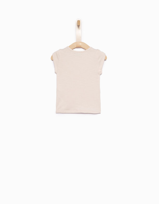 Tee-shirt bébé fille rose