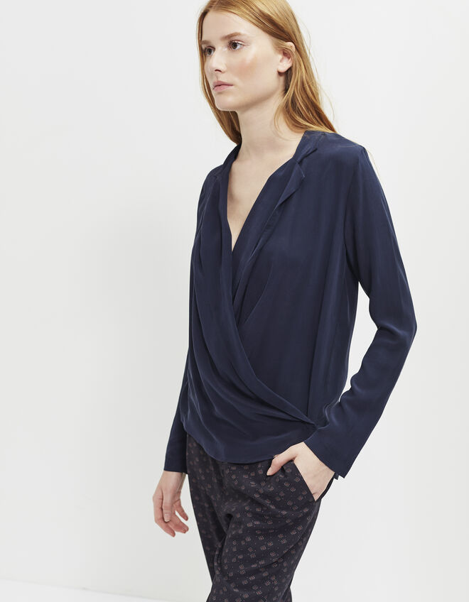 Women's silk blouse