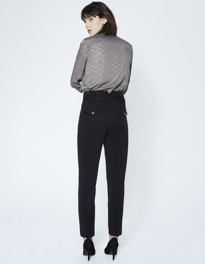 Women's Jacquard shirt - IKKS Women