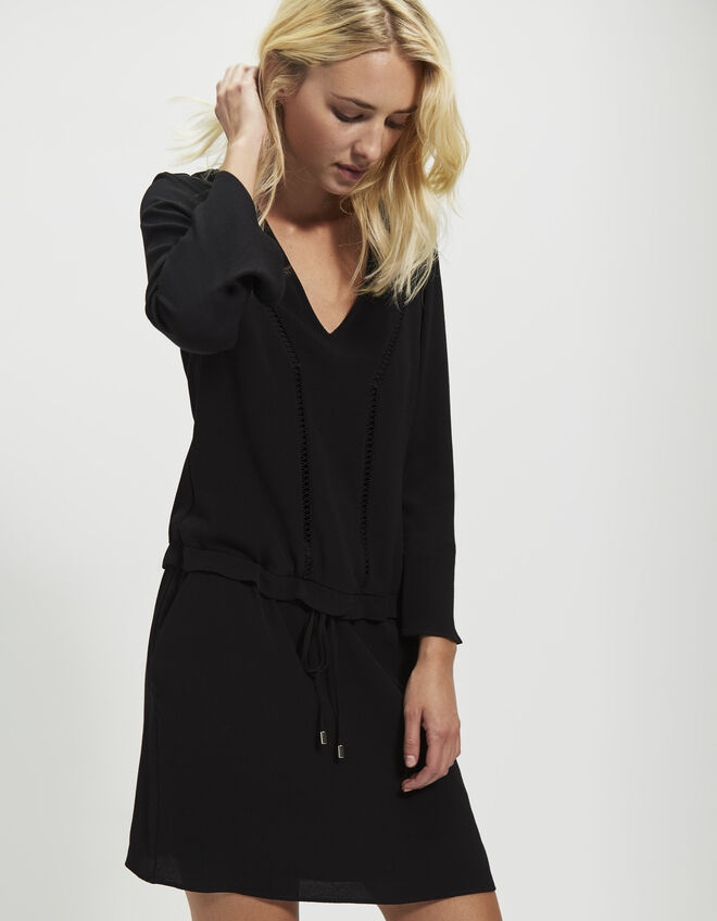 Women's 7/8-length-sleeve dress