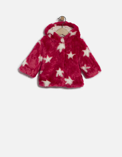 Manteau rose bébé fille - Junior