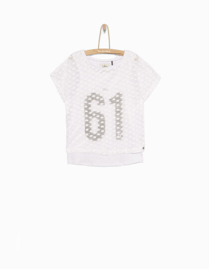 Tee-shirt fille 2 en 1 - IKKS Junior