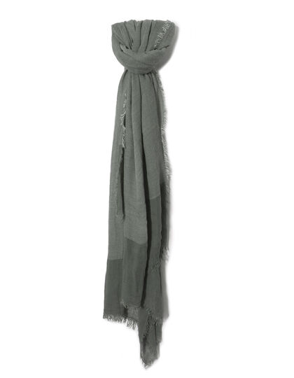 Men's khaki scarf - IKKS Men