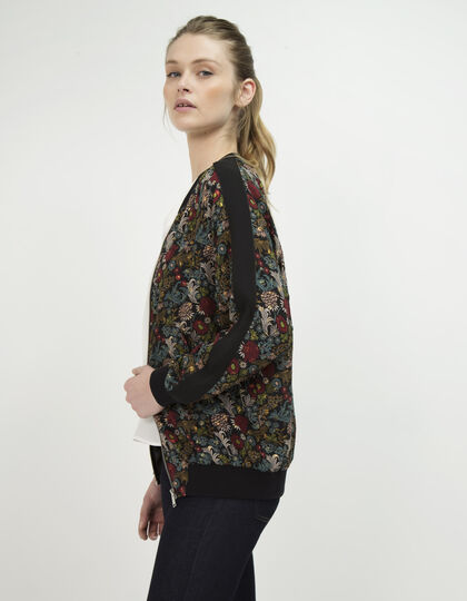 Reversible bomber jacket - IKKS Women