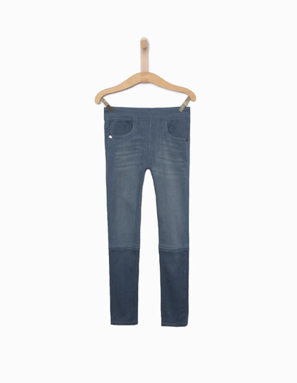 Jeggings fille bleu - IKKS Junior
