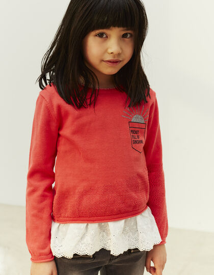 Girls' 2-in-1 sweater - IKKS Junior