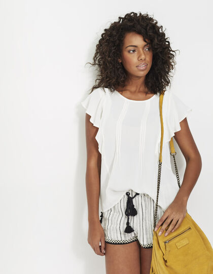 Women's white top - I.Code