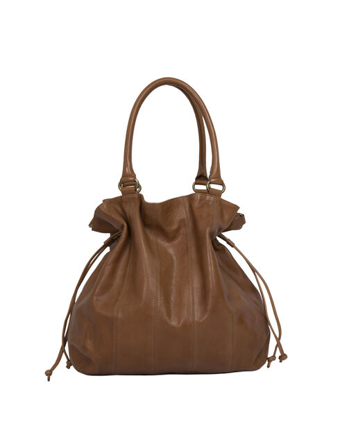 The Bulk camel-coloured tote