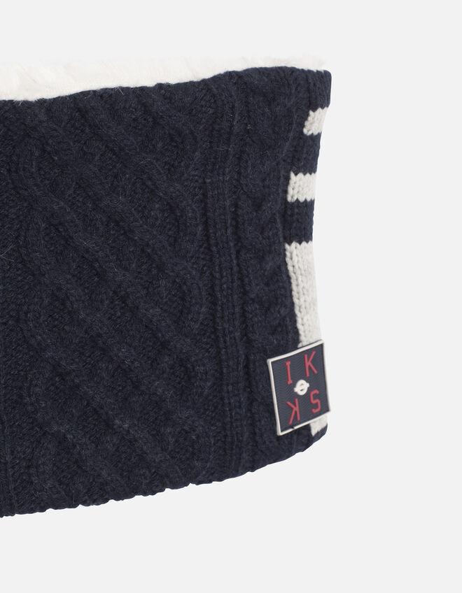 snood tricot gar on ikks mode archive h16 automne hiver. Black Bedroom Furniture Sets. Home Design Ideas