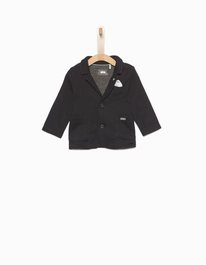Cotton fleece jacket  - IKKS Junior
