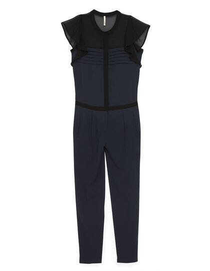 Navy blue jumpsuit - I.Code