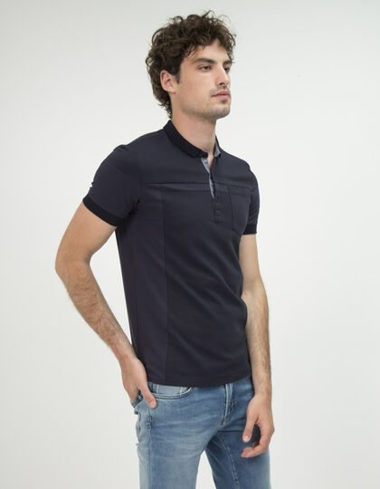 Polo marine homme - IKKS Men