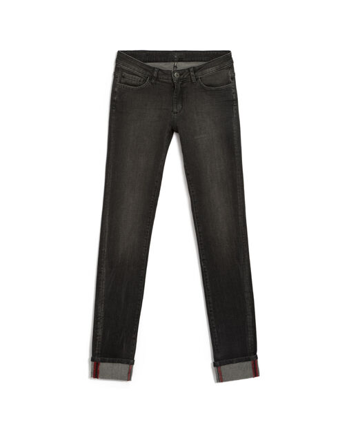 Antraciet slim fit jeans