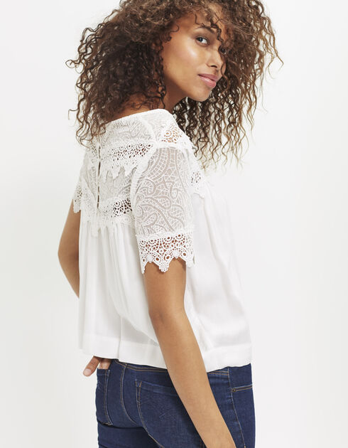 Women's lace blouse