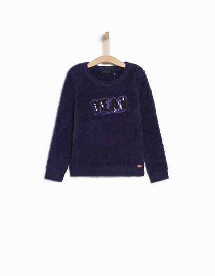 Pull violet fille - IKKS Junior