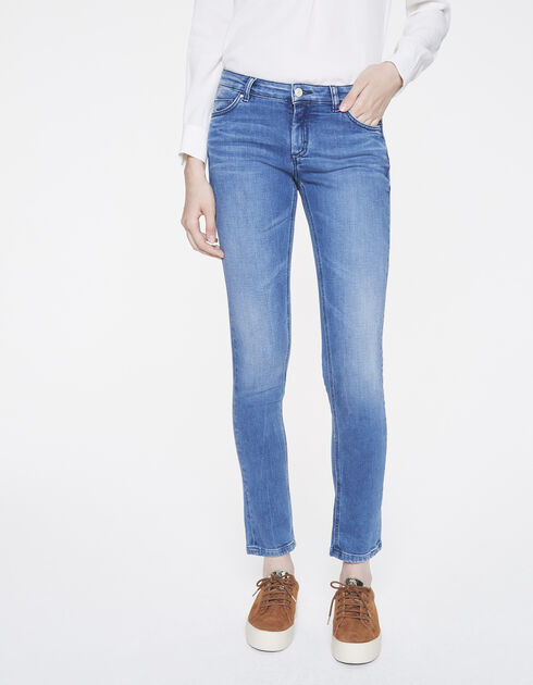 Blauwe slim sculpt up jeans