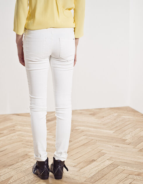 Women's coated trousers