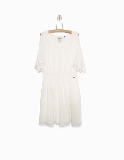 Robe blanche fille - IKKS Junior