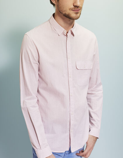 Men's pink shirt - IKKS Men