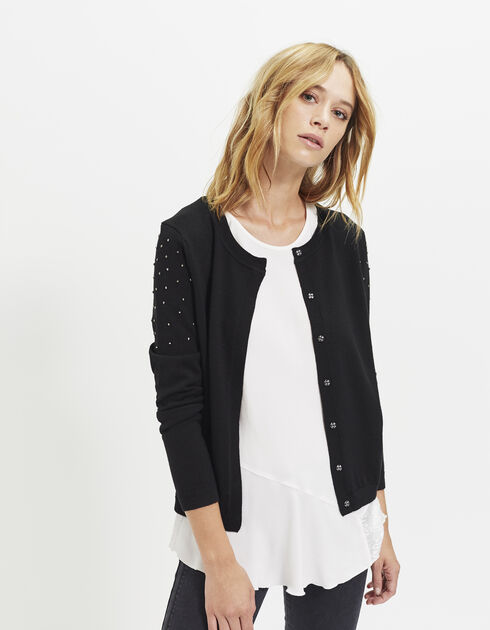 Women's jewel cardigan