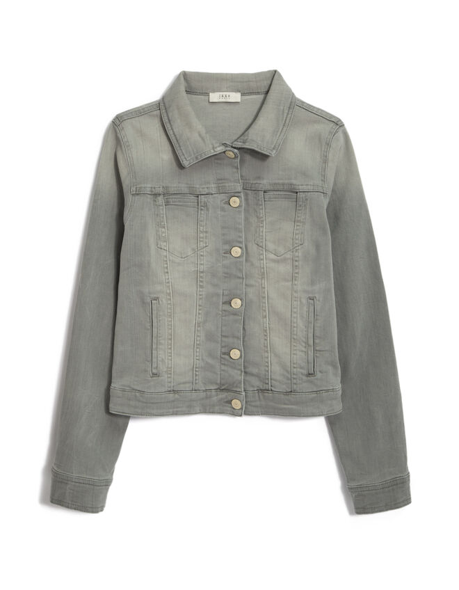 Women's grey denim jacket