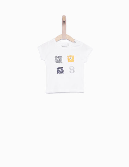 Tee-shirt bébé blanc - IKKS Junior
