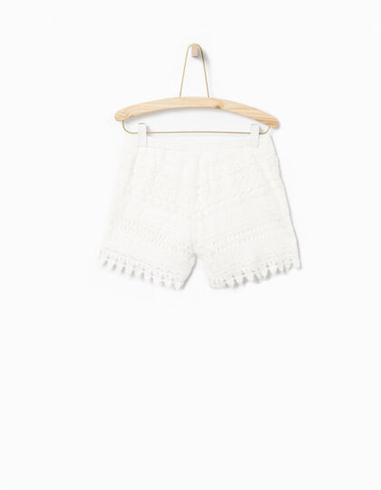 Short fille blanc - IKKS Junior