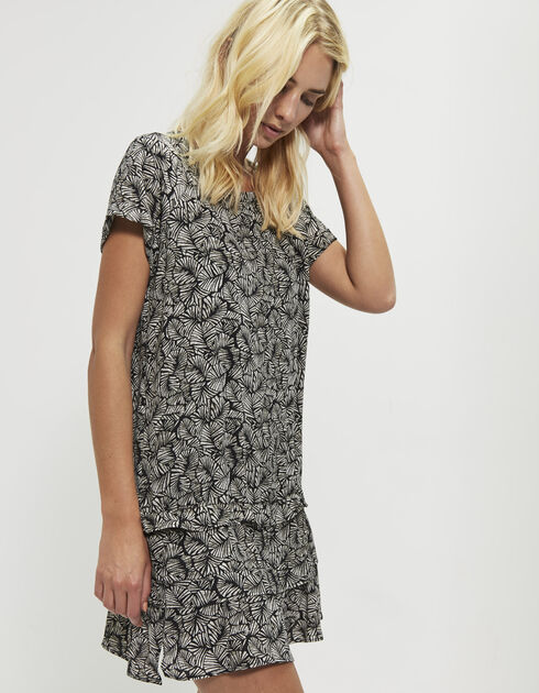 Women's printed dress