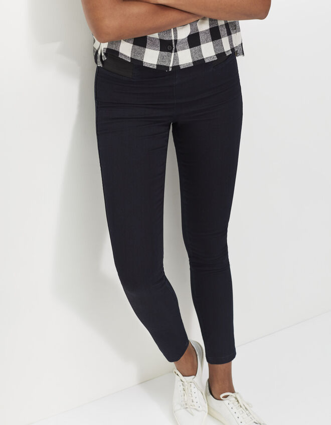 Women's blue treggings
