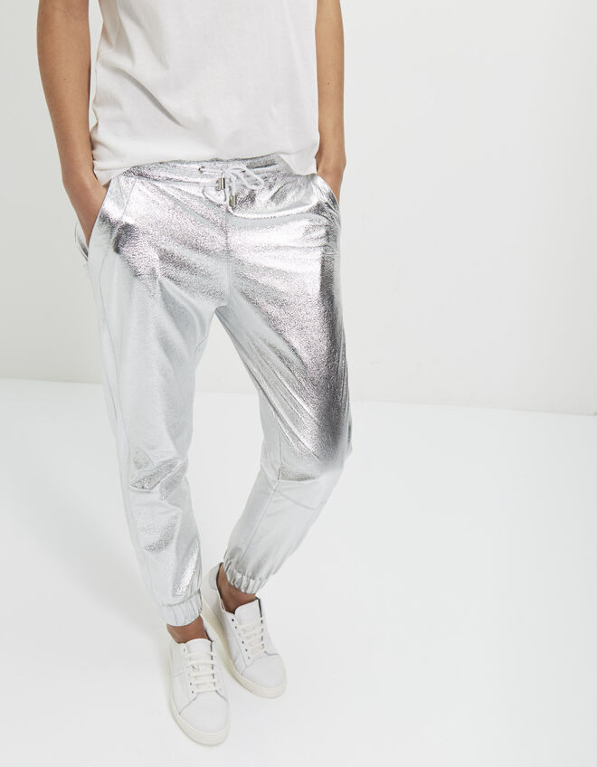 Metallic damesjogging