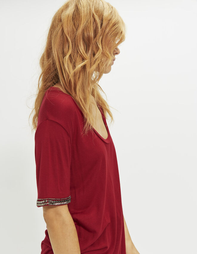 Women's jewel T-shirt