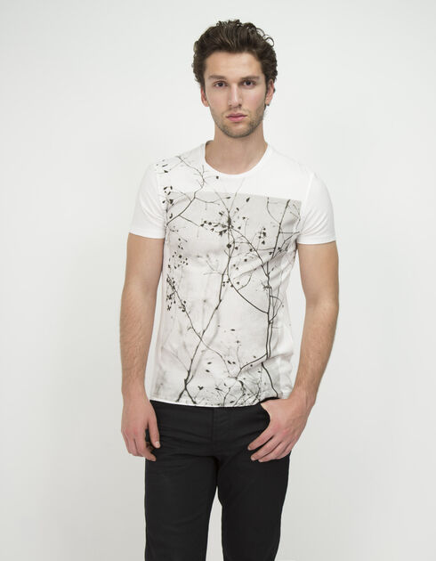 Wit heren T-shirt