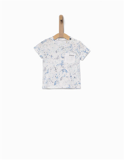 Babies' white T-shirt   - IKKS Junior