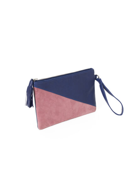 Women's two-tone clutch - I.Code