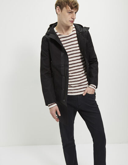 Men's black parka - IKKS Men