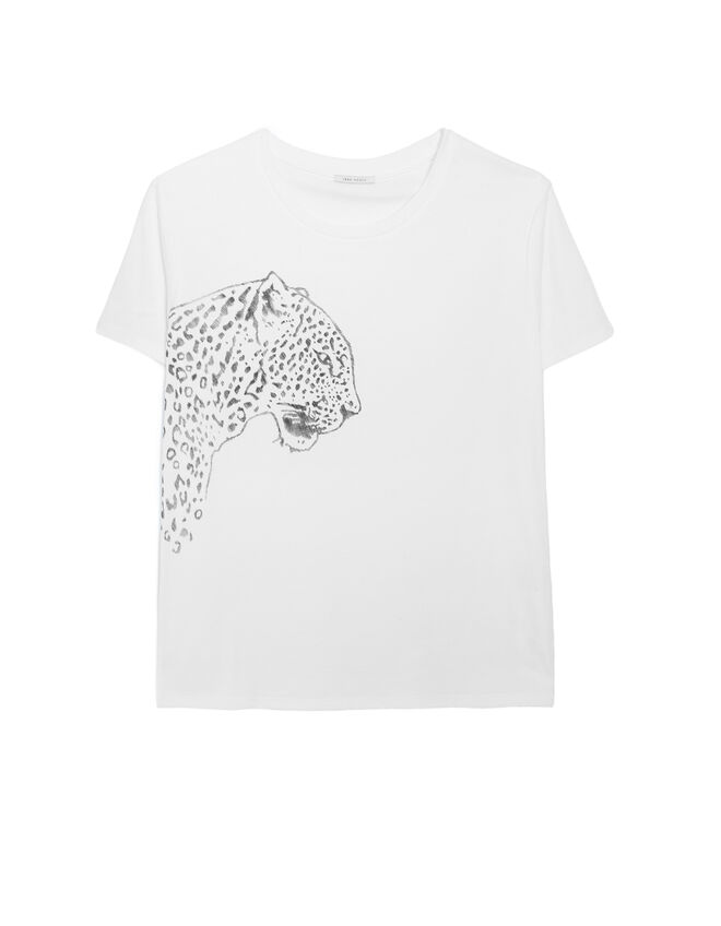 Dames T-shirt met panter