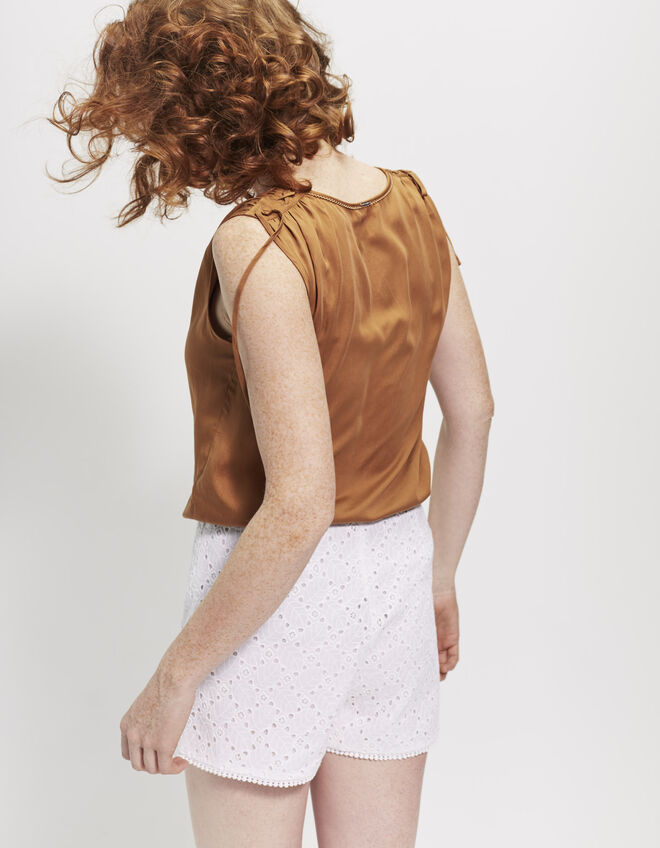 Women's camel top