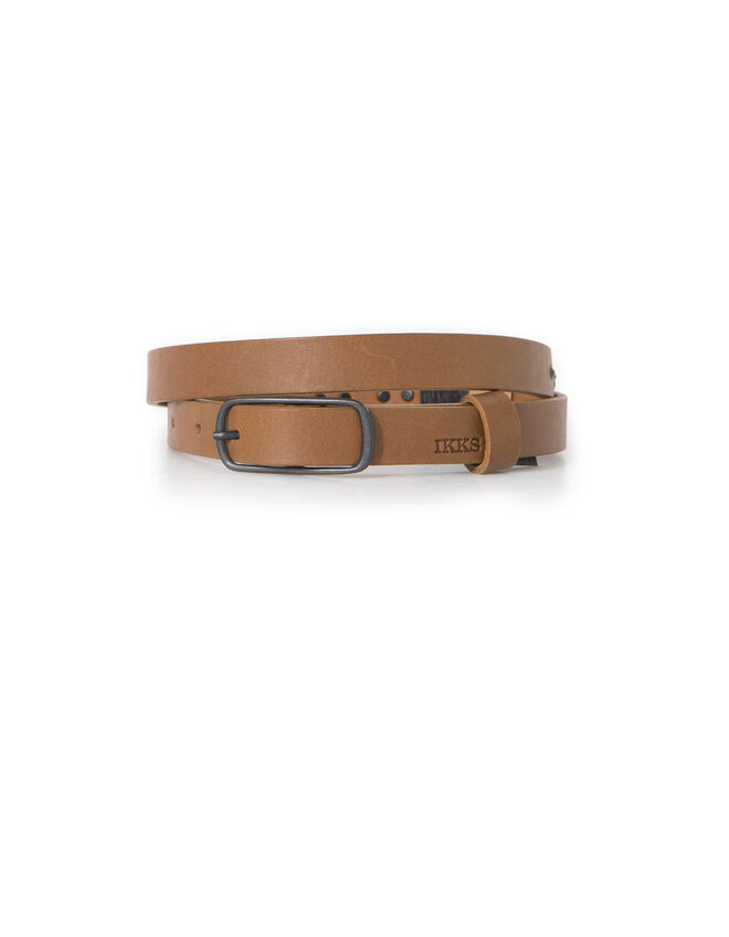Women's camel belt
