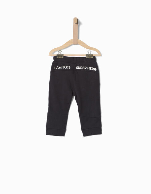 Baby boys' blue trousers
