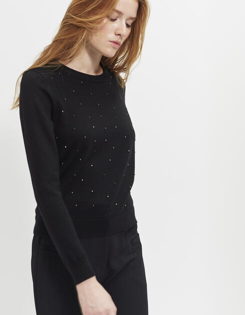 Women's jewel pullover
