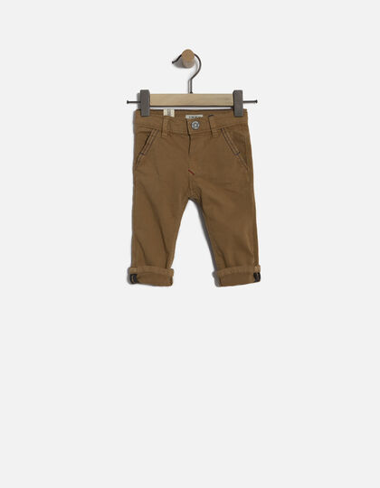 Pantalon marron bébé  - Junior