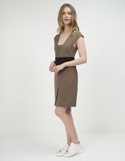 Women's two-tone dress - IKKS Women