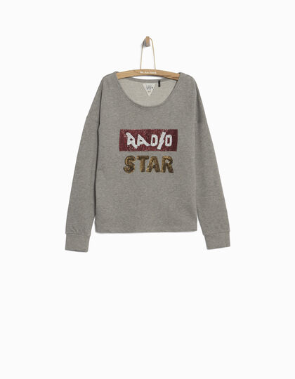 Cotton fleece sweatshirt - IKKS Junior