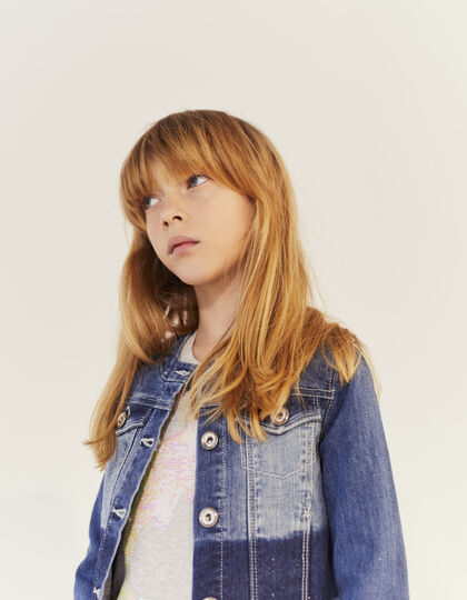 Girls' denim jacket - IKKS Junior