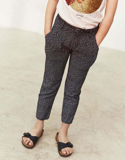 Girls' loose trousers