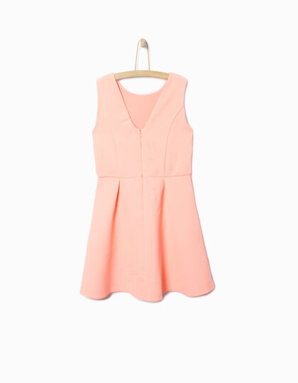 Girl's coral dress - IKKS Junior