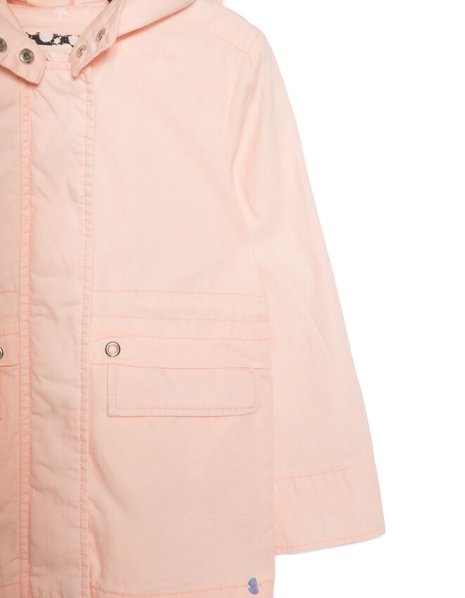 Girls' pink parka