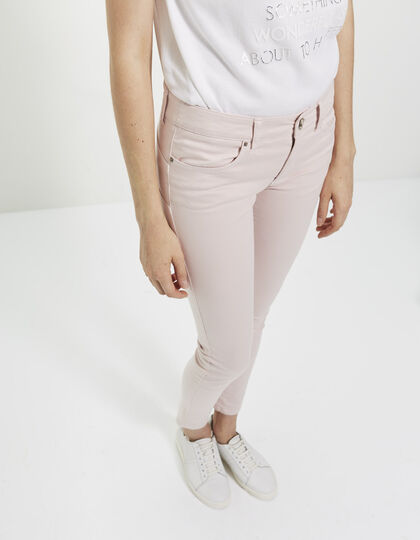 Women's pink trousers - I.Code