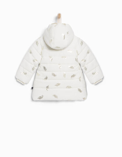 Baby girls' ecru down jacket - IKKS Junior